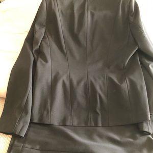 Black two piece suit